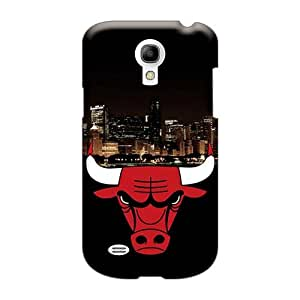 TimeaJoyce Samsung Galaxy S4 Mini Shockproof Hard Cell-phone Cases Allow Personal Design Fashion Chicago Bulls Series [uJH24640MPyy]