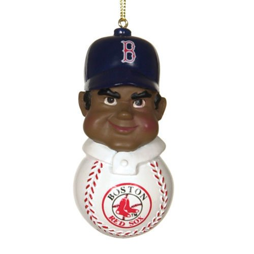 Boston Red Sox MLB Team Tackler Player Ornament (4.5 African American)