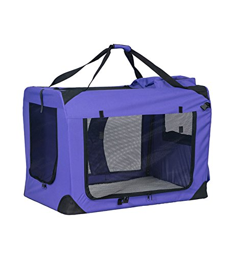 (BuyHive Pet Carrier Dog Cat Portable Travel Tote Carry Bag Kennel Soft House)