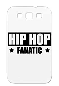 TPU Dirtproof For Sumsang Galaxy S3 Rap Music Microphone Hip Hop Fan Party Style DJ Horny Fanatic MC Cool Black Hip Hop Gq1 Case