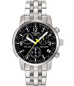 74ee252be63 Amazon.com  Tissot Men s T17158652 PRC 200 Chronograph Watch  Tissot ...