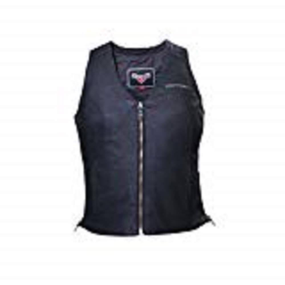 Genuine Victory Motorcycles Womens Victory Leather Motorcycle Vest Medium pt# 286321603