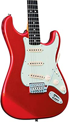 Squier Classic Vibe 50's Stratocaster - Sherwood Green Metallic - Rosewood Fingerboard from SQUAH