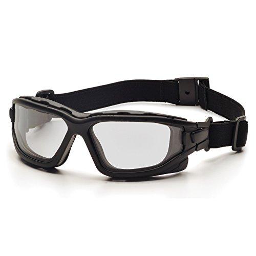 Best airsoft goggles - Pyramex I-Force Sporty Dual Pane  Anti-Fog Goggle, Black Frame/Clear Anti-Fog Lens