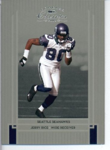 2005 Donruss Classics Football Card  85 Jerry Rice Seattle Seahawks ... 4f04d6e20