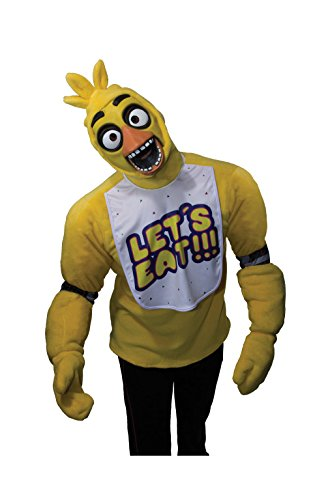 Men's Pizza Costume (Rubie's Men's Five Nights At Freddy's Chica Costume, Multi, Small)
