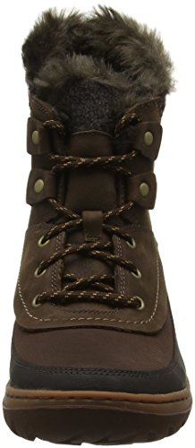 Marron Mid Sylva Femme Potting Neige Lace Soil Marron de Bottes Merrell Waterproof HSTfwqqx