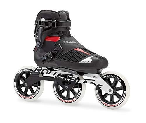 - Rollerblade Endurace Pro 125 Unisex Adult Fitness Inline Skate, Black and Red, Premium Inline Skates