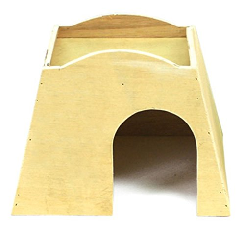 Ware Manufacturing Plywood Bungalow for Small Pets, Large