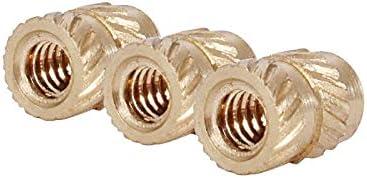 Nologo Self-tapping Nut Nut Hexagon Nut Small Nut Dimensioni : M1.4x1.8x2.3 100pcs