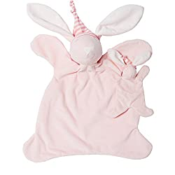 North American Bear Sleepyhead Bunny Jumbo Baby Cozy Set, Pink