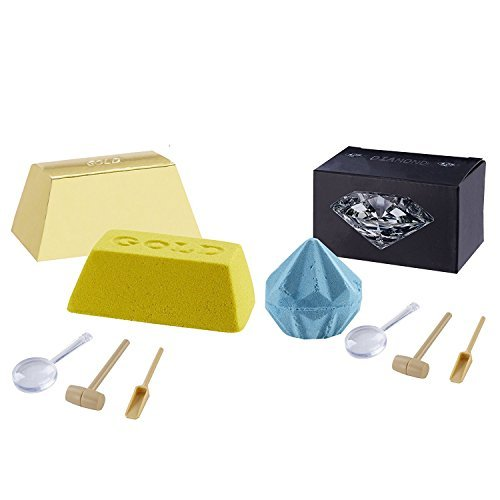 Mine It Diamond or Gold - Assorted ( Only One Item Is Sent at Random )