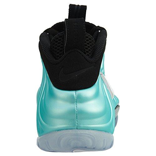 Nike Air Foamposite Pro Männer Basketballschuhe Inselgrün / Metallic Platinum