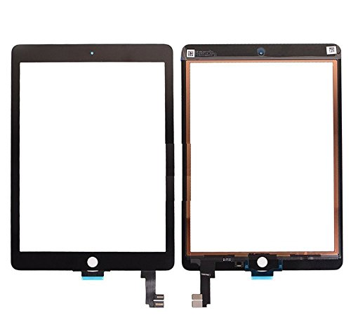 iPad Air 2 Digitizer Replacement Glass Touchscreen [Notice]- Need Professional Machine to fix Your iPad. Sell for Pro Repair Shop only [for Apple iPad Air 2 Generation A1566 A1567 only] Color Black. by Roy Chen