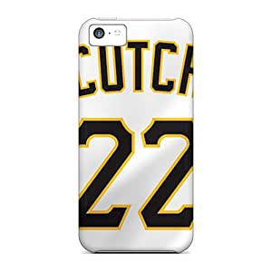 Premium Pittsburgh Pirates Back Cover Snap On Case For Iphone 5c