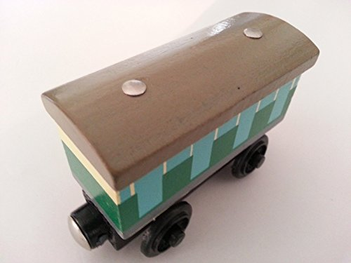 gg Friends Sodor Line Caboose Magnetic Wooden Toy Train Loose New In Stock (Line Sodor Caboose)