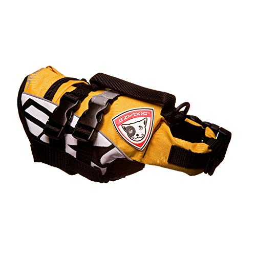 EzyDog Micro Dog Flotation Device, XS, Yellow