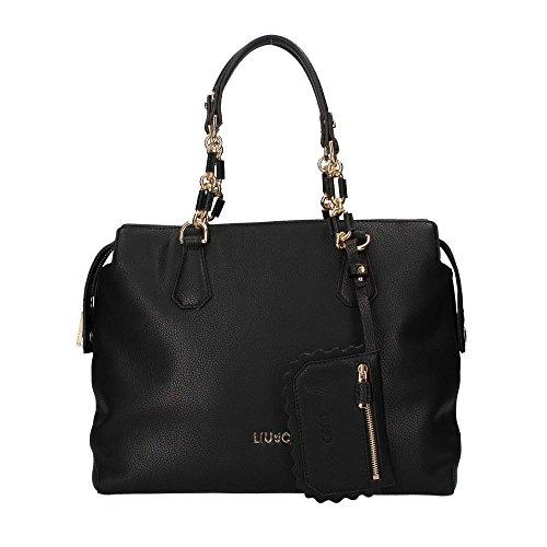 LIU JO A18001 E0027 Shopper Donna schwarz, schwarz