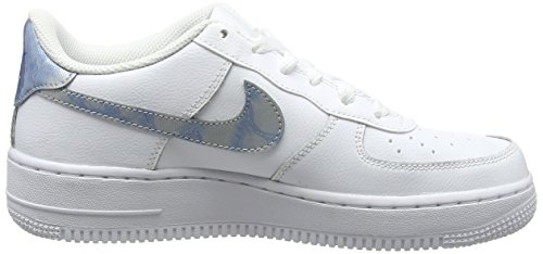 131 royal De white Tint Chaussures 1 Air Blanc Fille Nike gs Force Gymnastique white wqASnx1