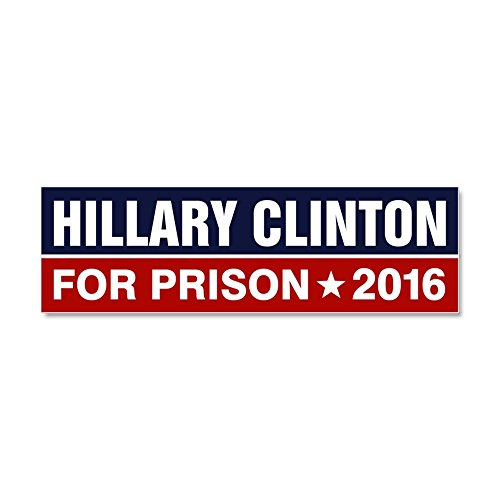 CafePress Hillary Clinton Magnetic Sticker