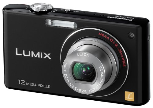 Panasonic デジタルカメラ LUMIX (ルミックス) FX40 エクストラブラック DMC-FX40-Kの商品画像