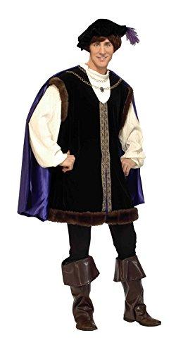 Noble Renaissance Man Costume (Mens Renaissance Fancy Dress Costumes)