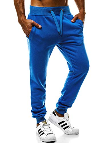 666s Style Jogging Blu Kk01 Sport Tempo Ginnastica Libero Da Ozonee Ozonee 777 Fitness Pantaloni J Uomo Jogger CxqwPaF5