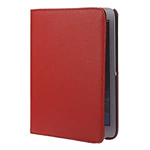 WEV High Quality Faux Leather Rotating Protective Full Body Case for Samsung Galaxy Tab 3 10.1 P5200 , Black