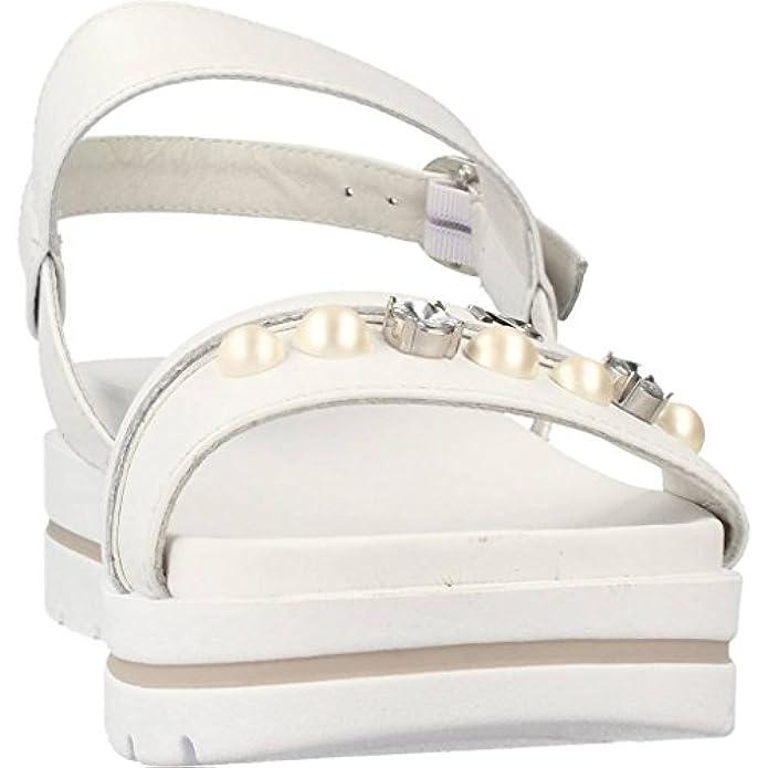 Scarpe E Borse Da Donna Sandali Nero Giardini Bianco 5854 P805854d