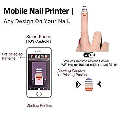 Amazon.com: Impresoras de uñas 3D portátil máquina de ...