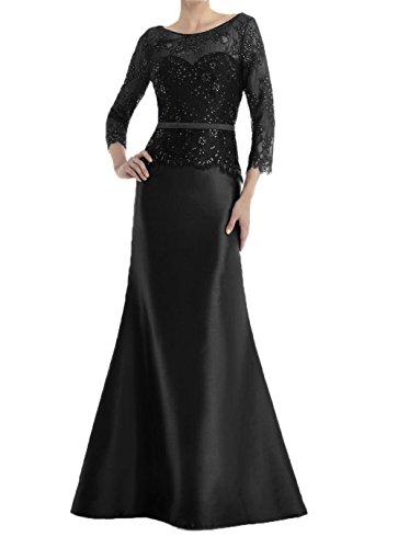 Damen Brautmutterkleider Charmant Festlichkleider Royal Lang Spitze Schwarz Meerjungfrau Abendkleider Blau Partykleider gr4dwYq4