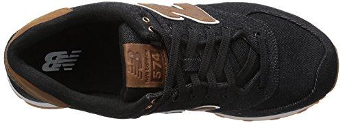 New Balance - Zapatillas de Tela para hombre negro negro