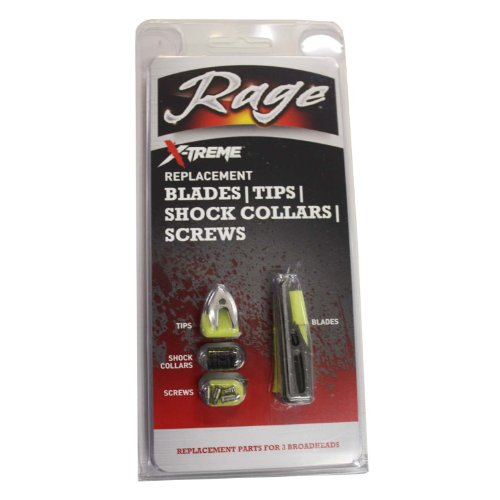 Rage X-Treme 100 Grain Replacement Pack (3 Sets of Blades)