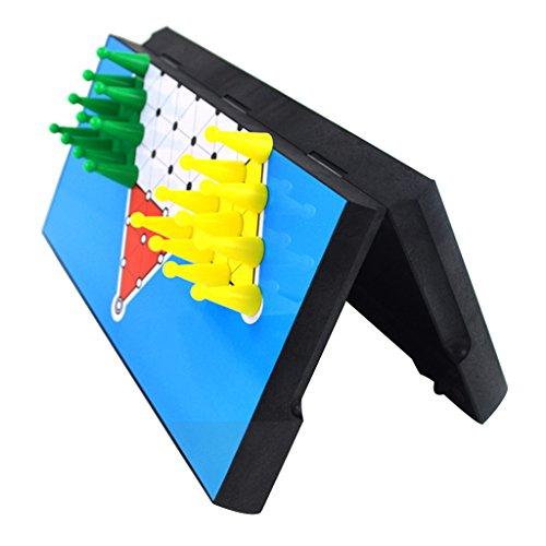 【ノーブランド 品】30個 磁気ペグ ボードゲーム プラスチック 六角 中国語 チェッカー チェス おもちゃ 贈り物
