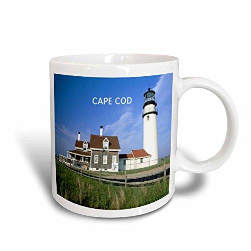 3dRose Lighthouse on Cape Cod in Massachusetts Ceramic Mug, - Outlets On Cape Cod
