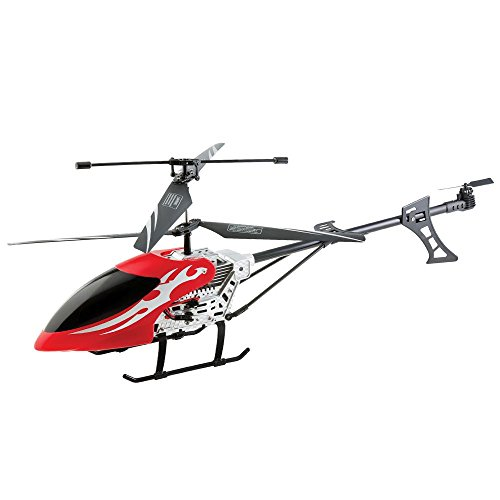 Aeroblade 3.5 Channel Tactical Wireless Mega RC Gyro Helicopter, Black