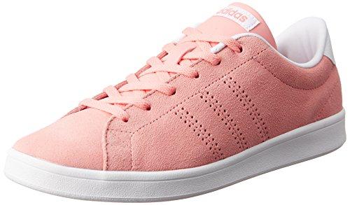 adidas Advantage Clean Qt W, Zapatilla de Deporte Baja del Cuello para Mujer, Rosa (Rosray/Rosray/Ftwbla), 39 EU