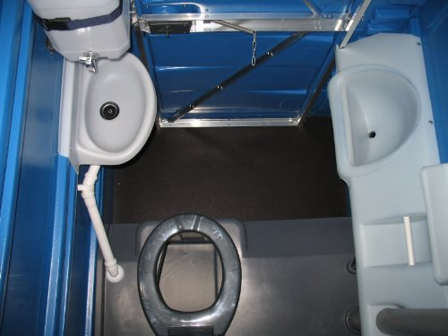 Toilettenkabine WoCo-3 WcSpecial Baustellentoilette Gartentoilette