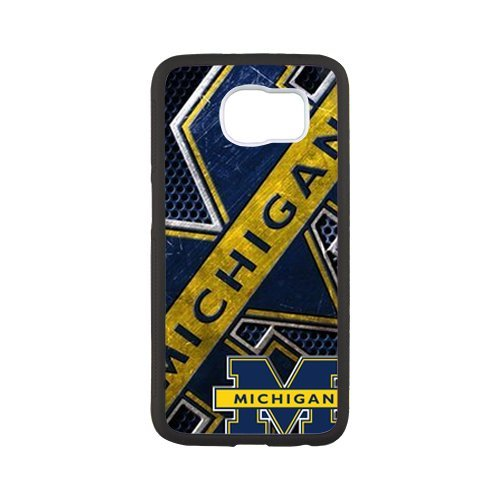 Lightweight Protective Bumper Cover University Of Michigan Wolverines Cell Phone Case for Samsung Galaxy S7 Edge - Wolverine Costumes Replica