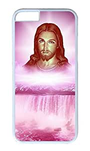iPhone 6 Plus Case,VUTTOO iPhone 6 Plus Cover With Photo: Jesus For Apple iPhone 6 Plus 5.5Inch - PC White Hard Case