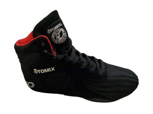 Otomix Black Stingray Escape Weightlifting Grappling Shoe Size