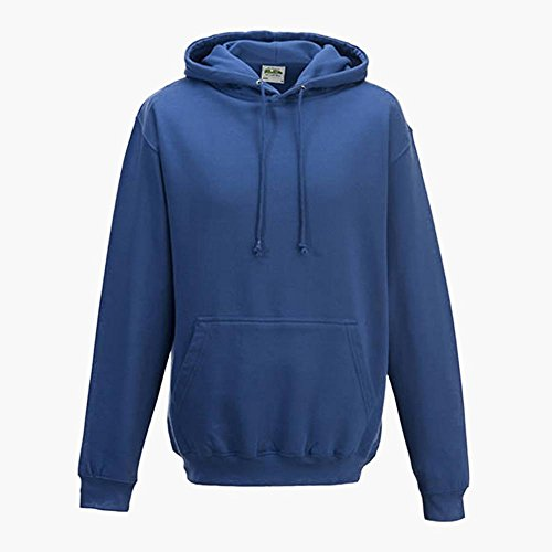 Just Hoods - Unisex College Hoodie / New French Navy, M