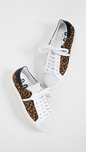 Dept. of Finery Womens Indiana Leopard Laceup Sneakers Tan Leopard i19IP