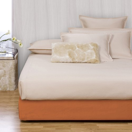 Howard Elliott 242-594S Micro Suede Platform Bed Kit and Cover, Queen, Tangerine by Howard Elliott Collection