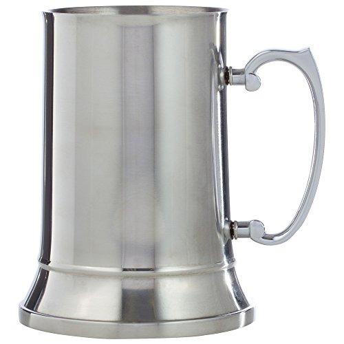 - Maxam KTBMUG Stainless Steel Beer Mug, 20 oz, NA