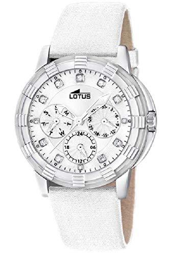 Lotus Glee Womens Analog Quartz Watch with Leather Bracelet 15746/B