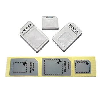 Noosy iCoolkit nuevo iPhone de tarjetas Nano SIM a Micro ...