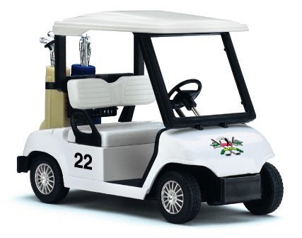 Kinsfun Pull Back Action Golf Cart (Toy Golf)