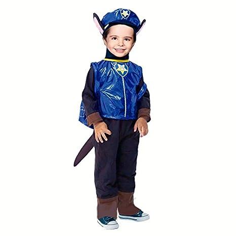 Disfraz Perro Policía para niño (2-4 años): Amazon.es ...