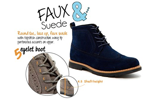 Giraldi Zion Mens Chukka Boots Navy
